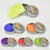 Жвачка для рук С 23191 /ЦЕНА ЗА 1 ШТУКУ/ (480) 6 цветов, 35 грамм, 12шт в упаковке