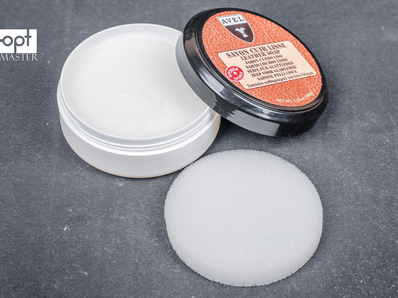 Очищающее мыло Avel Savon Cuir Lisse Leather Soap, цв. бесцветный, 100 мл (4000)