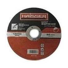 Круг 125*1,2*22,2 мм отрезной Haisser по металлу