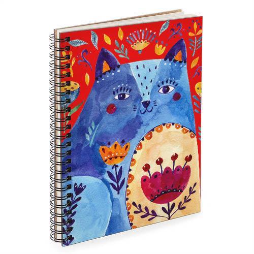 Блокнот Sketchbook Кошка А5 (BDP_FFL004)