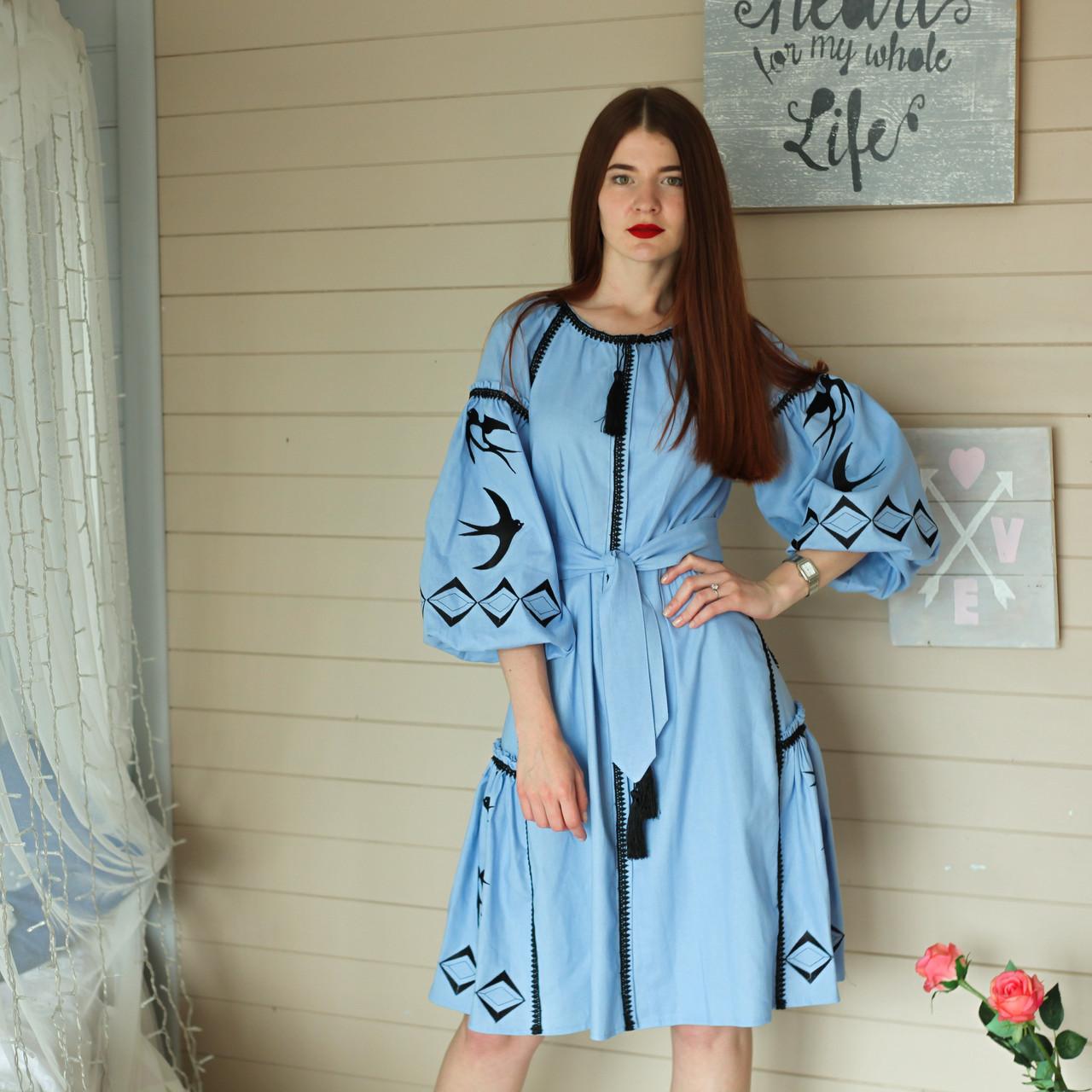 """Жіноче вишите плаття """"Адріана"""" (Женское вышитое платье """"Адриана"""") PJ-0012"""