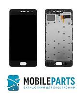 Дисплей для телефона Meizu Pro 7 c сенсорным стеклом в рамке (Черный) AAA, ТFT