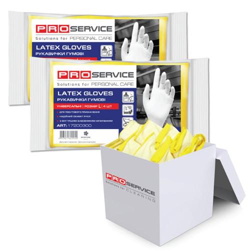 Латексні рукавиці Оптімум L (1 шт) ProService