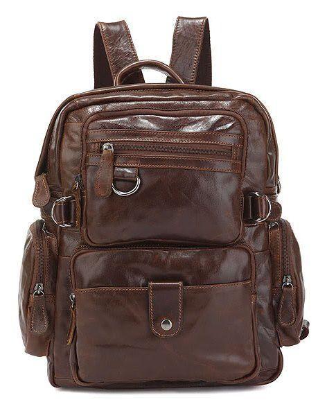 Рюкзак Vintage 14232 Кожаный Коричневый, Коричневый