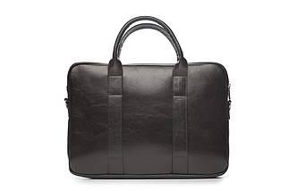 """Мужская кожаная сумка для ноутбука 15 - 15.4"""" Коричневая Solier (SL20Brown), фото 2"""