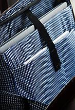 "Мужская кожаная сумка для ноутбука 15 - 15.6"" Solier Каштановая (SL21Maroon), фото 2"
