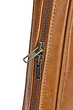 """Мужская кожаная сумка для ноутбука 15 - 15.6"""" Solier Коричневый (SL21Camel), фото 3"""