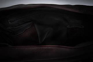 """Мужская кожаная сумка для ноутбука 15 - 15.6"""" Solier Коричневая (S04DarkBrown), фото 2"""