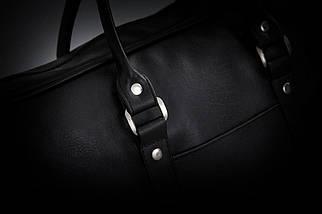 """Мужская кожаная сумка для ноутбука 15 - 15.6"""" Solier Черная (S04Black), фото 2"""