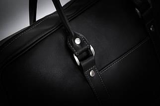 Сумка для ноутбука на плечо черная Solier (S04Black2), фото 2