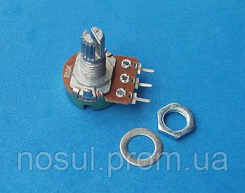 Резистор переменный WH148 B10K 10 кОм, потенциометр