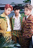 Картина 40х60 GeekLand Bangtan Boys BTS Beyond The Scene 3.23 Чонгук, Джей-Хоуп и Чимин  K-POP