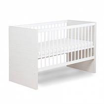 Детская кроватка Amelia 140x70, серая,Klups1407AmL