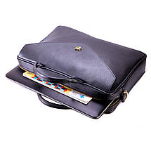 """Кожаная женская сумка для ноутбука 15 - 15.4"""" Felice черная (Fl15Black), фото 3"""