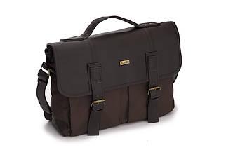 Городская мужская сумка Solier Коричневая (S14Brown), фото 3