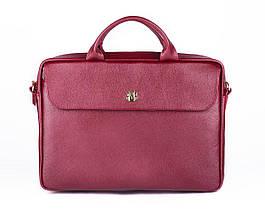"""Элегантная кожаная женская сумка для ноутбука Felice 15 - 15,6"""" Красная (FL16Red), фото 2"""