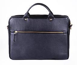 """Элегантная кожаная женская сумка для ноутбука Felice 15 - 15,6"""" Черная (FL16Black), фото 2"""