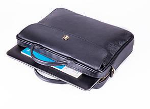 """Элегантная кожаная женская сумка для ноутбука Felice 15 - 15,6"""" Черная (FL16Black), фото 3"""
