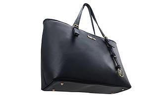 Кожаная женская сумка Felice Синяя (LunaBlue), фото 3