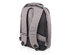 """Рюкзак для ноутбука 15"""" Дюймов Solier Серый (SV03), фото 2"""