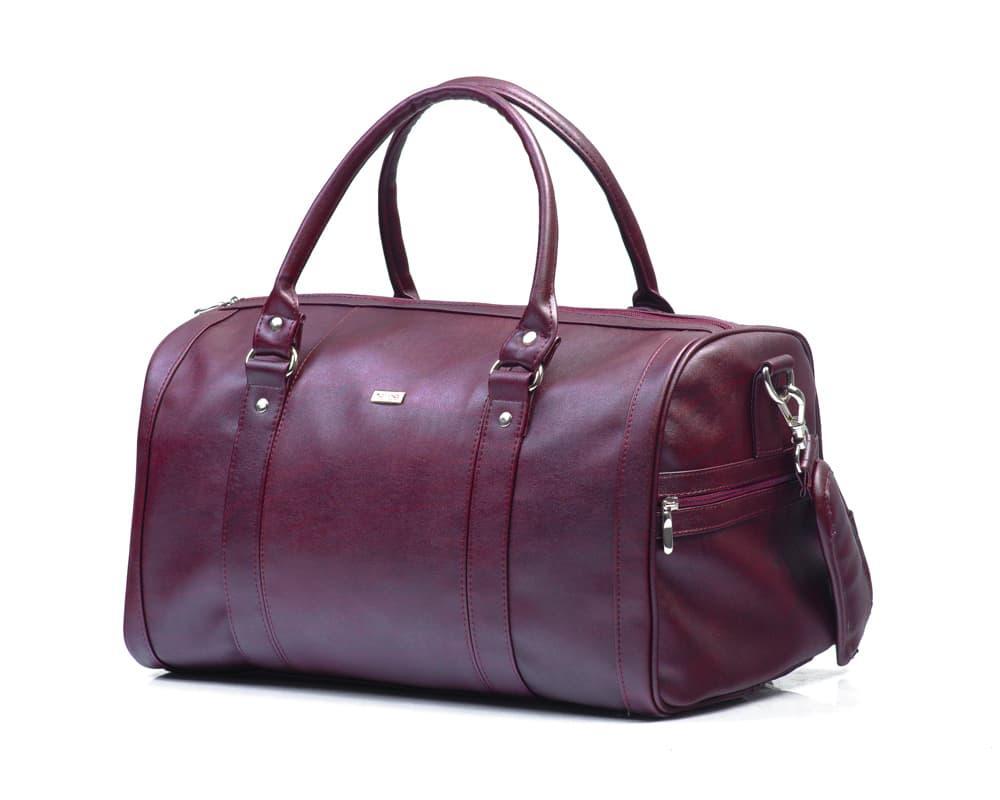Женская дорожная сумка Felice Бордовая (NanaMaroon)