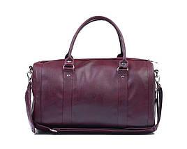 Женская дорожная сумка Felice Бордовая (NanaMaroon), фото 2