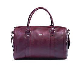 Женская дорожная сумка Felice Бордовая (NanaMaroon), фото 3