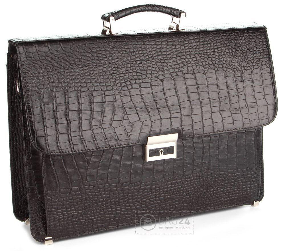 Портфель Shvigel 00388 Черный, Черный