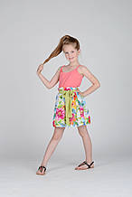 Нарядная юбка для девочки Alice Pi Италия 6341 Белый 122, , белый,
