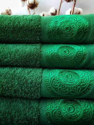 Махровое Полотенце (50х90/550г) Damask Nostra с вышивкой, фото 2