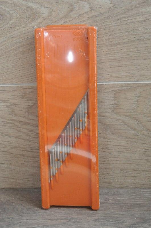 Вафельная овощерезка Borner Classic оранжевая