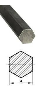 Шестигранник 30 ст. 45 некондиція (кількість обмежена), фото 2