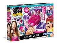 """Творческий набор Crazy Chic """"Студия маникюра"""", Clementoni, 78257"""