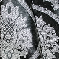 Декор алла-2 вензель люрекс т.серый/серебро