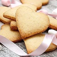 Печиво пісочне для брендування  та декорування [серце], фото 1