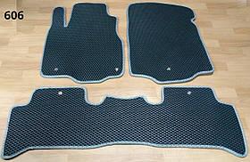 Коврики в салон для Acura MDX 2006-2013 EVA полимерные. 3 шт. Star-Tex.