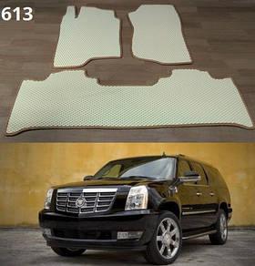 Коврики на Cadillac Escalade III 2007-2013. Автоковрики EVA