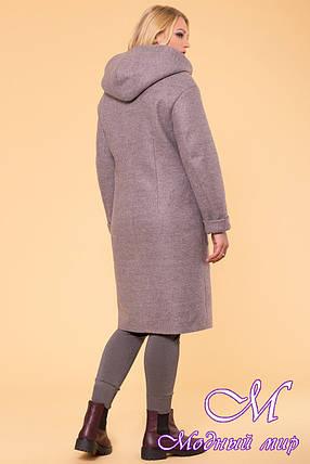 Женское стильное зимнее пальто больших размеров (р. XL, XXL, XXXL) арт. Анджи донна 5612 - 40689, фото 2