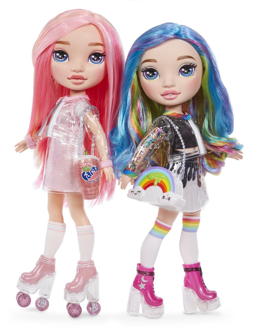 Игровой набор с куклой серии Poopsie Rainbow Girls Радужная или розовая леди (559887)
