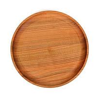 Тарелка деревянная, для пиццы 30см., фото 1