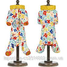 Дождевик Pet Fashion Бонни для собак, цветы XS2