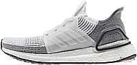 Мужские кроссовки Adidas Consortium Ultra Boost 19 Cloud White Grey Two B75880, Адидас Консортиум Ультра Буст