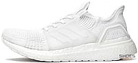 Женские кроссовки Adidas Consortium Ultra Boost 19 Cloud White G54015, Адидас Консортиум Ультра Буст