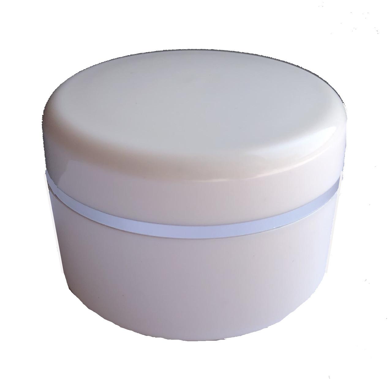 Пластиковая баночка с винтовой крышкой 4 см на 2 см ( 15 гр)