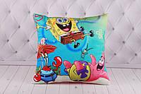 """Детская подушка """"Губка Боб"""", SpongeBob SquarePants, Спанч Боб, подушка с Губкой Бобом"""