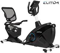 ЭлектроМагнитный, горизонтальный велотренажер ELITUM LX900 iConsole+  до 150 кг. Гарантия 24 мес.