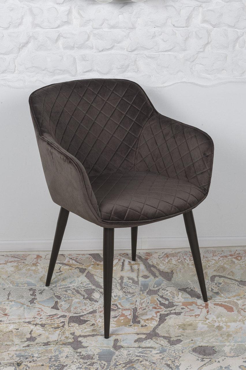 Кресло Nicolas BAVARIA 58х65х80 см антрацит
