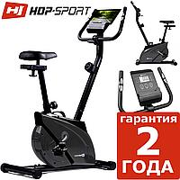 Магнитный велотренажер Hop-Sport HS-2070 Onyx grey до 120 кг.