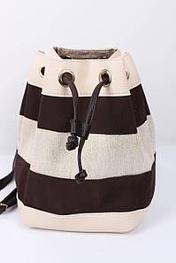 Рюкзак WeLassie Леви молочный+коричневый (44501)