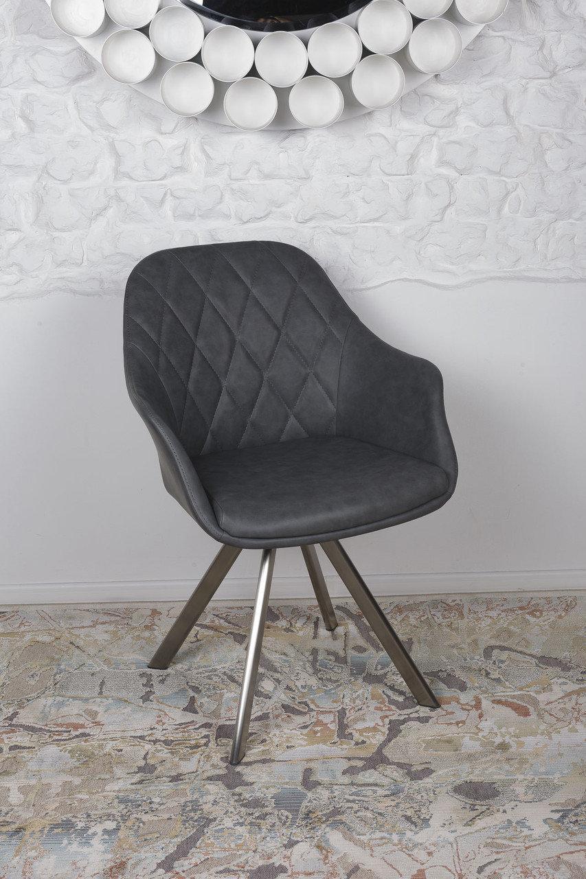 Кресло Nicolas ALMERIA 61х60,5х88 см серый